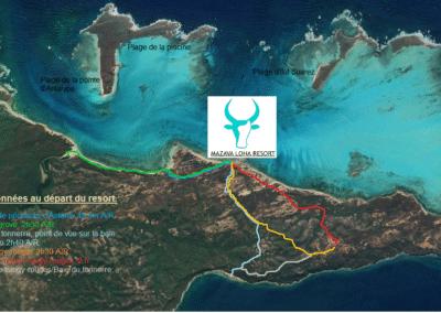carte-randonnées-mazavaloha-ecole-kite-mer-emeraude-madagascar- mer d'émeraude